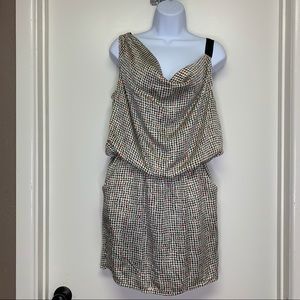PEPPERMINT SLEEVELESS DRESS SIZE LARGE